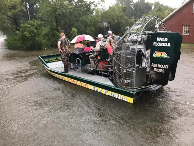 Wild Florida with Hurricane Harvey Victims