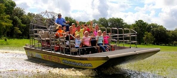 Everglades airboat tours Wild Florida