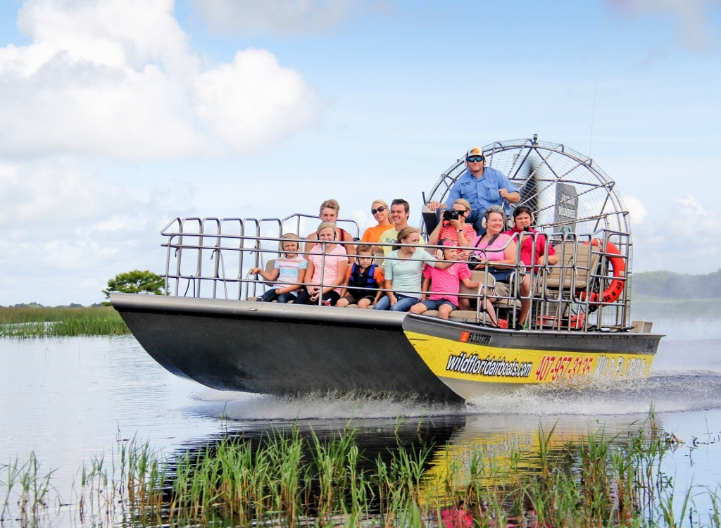 Wild Florida Airboat Ride
