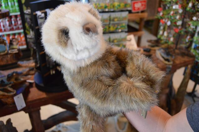 Unique Florida gifts sloth puppet