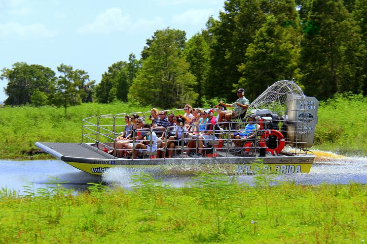 Airboat tour in Orlando