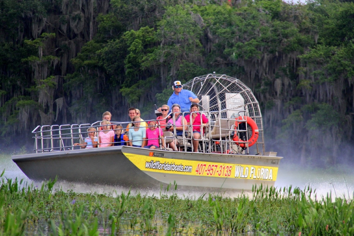 airboat captains at Wild Florida