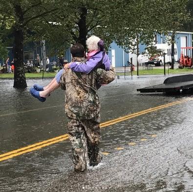Wild Florida rescuing Hurricane Harvey victims