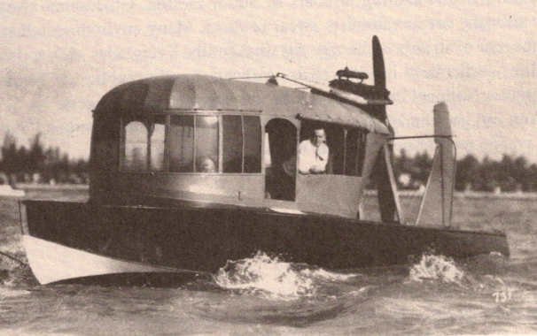 first airboat in florida