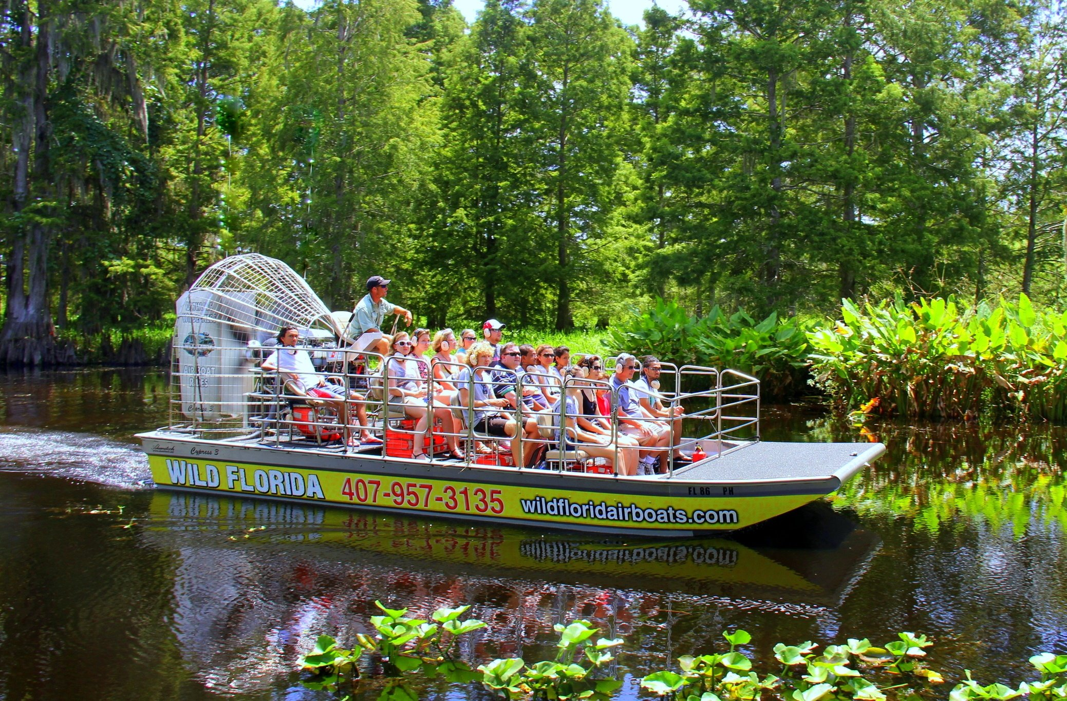 Wild Florida Airboat in Central Florida
