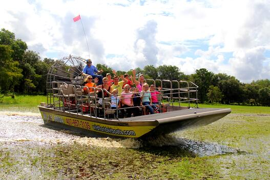 Frequently asked questions about airboat rides in Orlando!