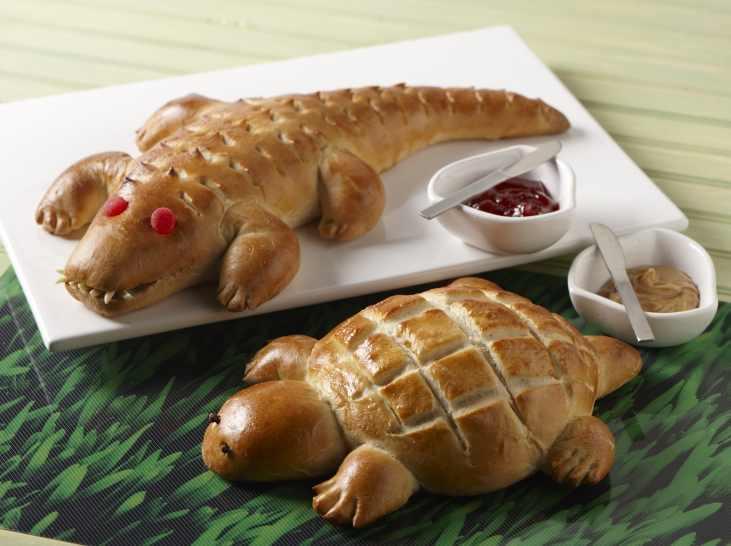 Alligator bread